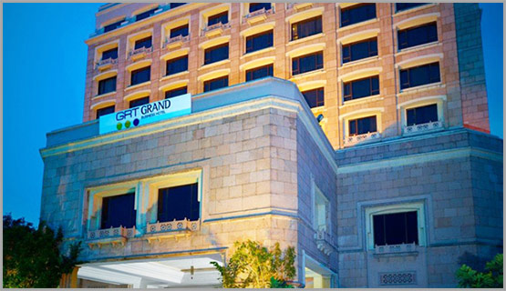 centrally located in the heart of chennai city grand by grt is the flagship hotel of grt hotels resorts renovated and refurbished in april 2016